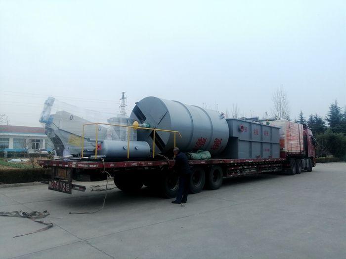福建食品污水处理项目设备发货